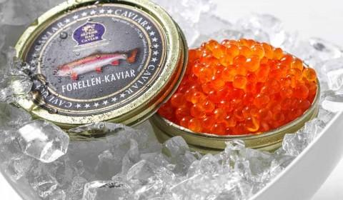 Forellen Kaviar